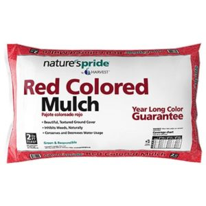Red Shredded Hardwood Mulch